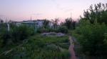 """Hotel """"Meridian's"""" garden"""